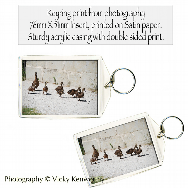 Duck Keyring Photography by VK
