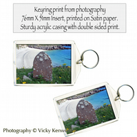 Beach Keyring Photography by VK