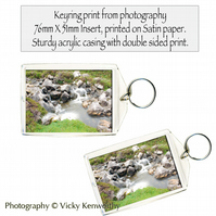 Waterfall Keyring Photography by VK