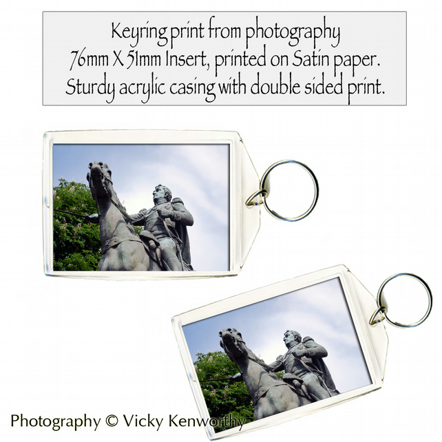 Satue Keyring Photography by VK