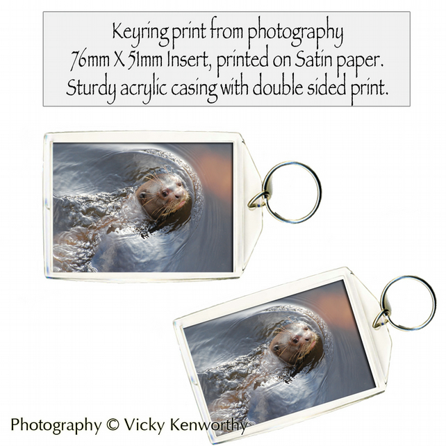 Otter Keyring Photography by VK