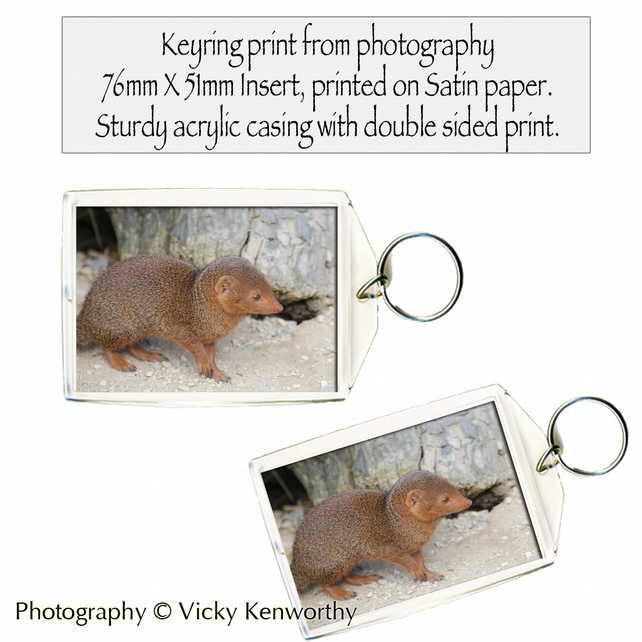 Mink Keyring Photography by VK