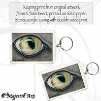 Tabby Keyring JUST ONE LOOK Cat