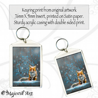 Fox Keyring DRIFT Wildlife