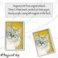 Maine Coon Magnet ONLY ME Cat Pet Animal VK