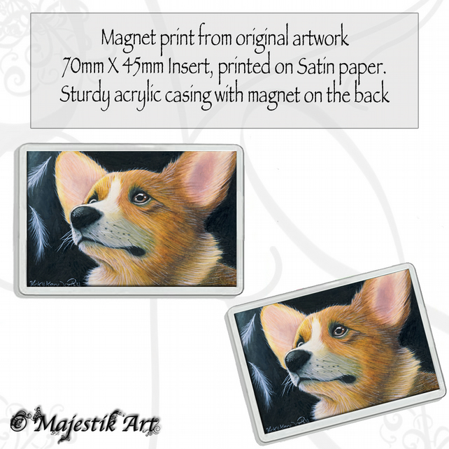 Corgi Magnet FASCINATE Dog VK