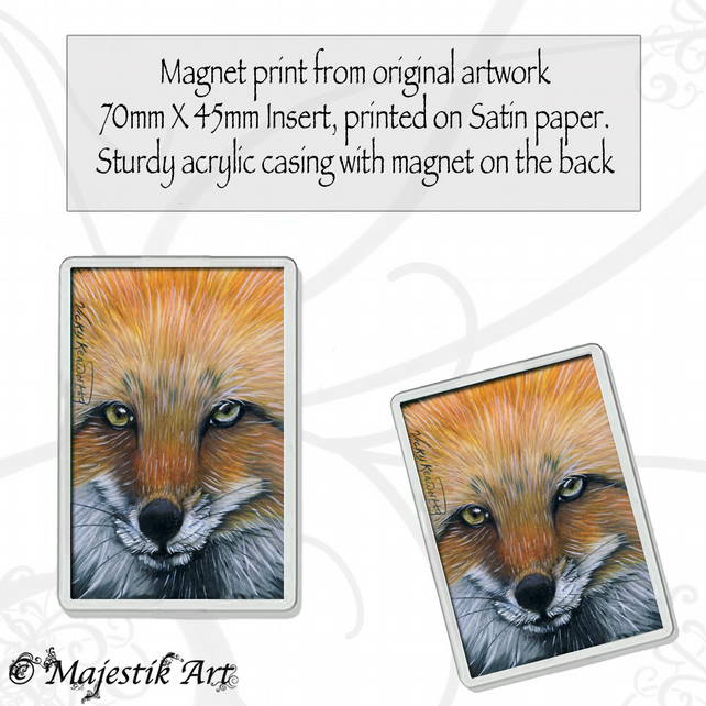 Fox Magnet VIXEN Wildlife VK