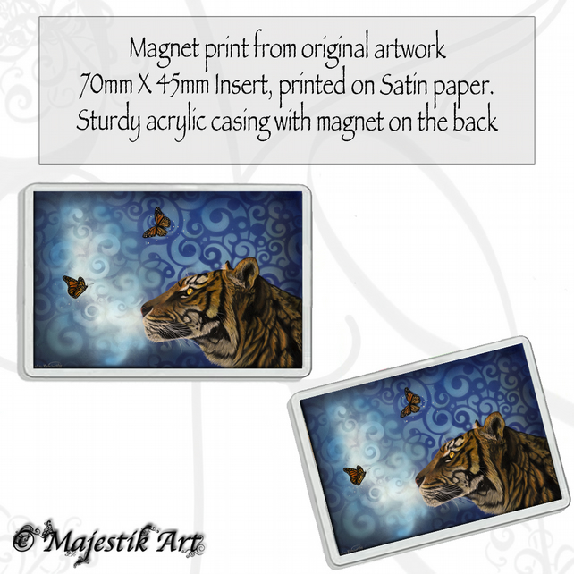 Tiger Magnet ENCHANTING Wildlife VK