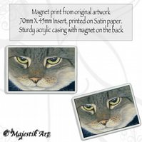Tabby Cat Magnet THE LOOK Animal VK