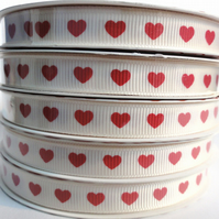 Heart Ribbon. Valentines