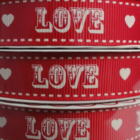 Love Ribbon. Valentines