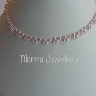Charlotte - Pink Pearl necklace