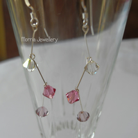 Swarovski Crystal Cascade Earrings