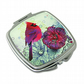Compact Mirror for pocket or handbag, gift for bird and nature lovers. M11