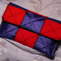 Phone or Camera Case, quilted patchwork