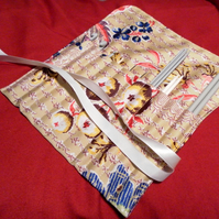 Crochet hook and or knitting needle roll
