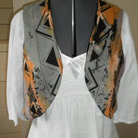 Ladies Reversible Sleeveless Jacket