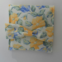 Floral Coin Purse or card wallet