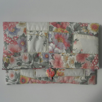 Fold Over, Quilted Clutch, Handbag, Tablet Bag,