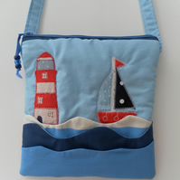 Shoulder Bag, Cross Body Bag, Holiday Bag, Beach Bag, Seascape