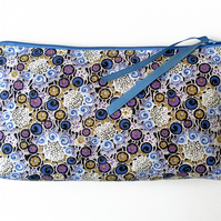 Make up Bag, Blues and Purple