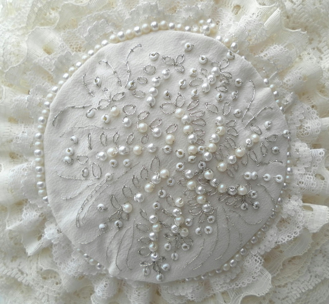 Bridal bag,Vintage Inspired, Wedding Bag, Bridesmaid, Lace, Beads, Cream