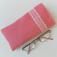 Pink Glasses Case