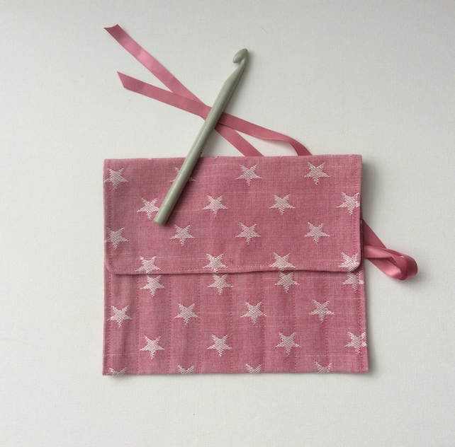 Crochet, knitting needle roll, case