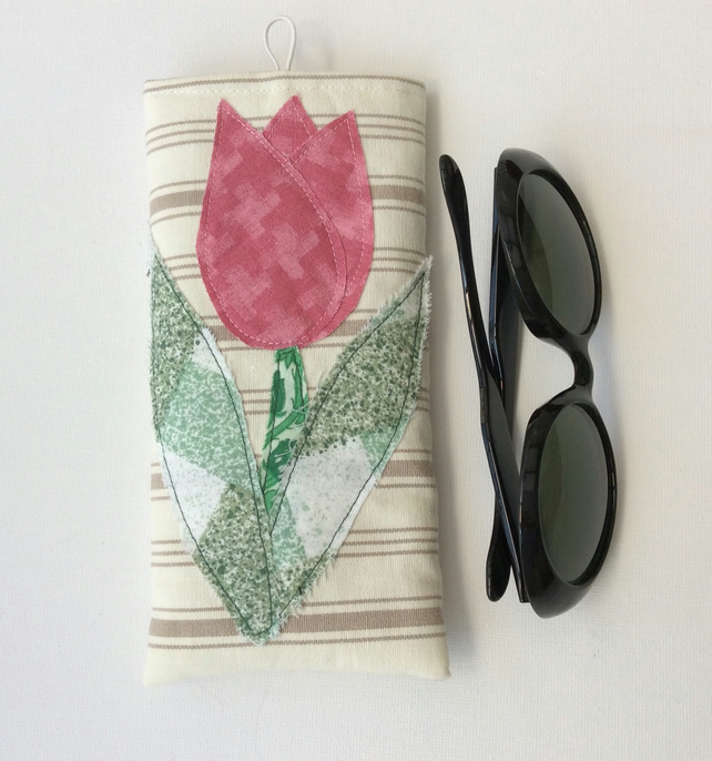 Sunglasses, glasses, soft case, tulip