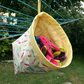 Peg bag, clothespin bag, hanging, free standing, peg fabric