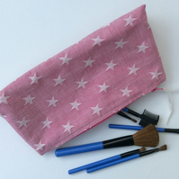 Large Make up bag, cosmetics, storage, zipped case