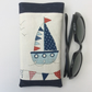 Sunglasses case, glasses case, boat and bunting