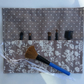 Make up brush storage roll