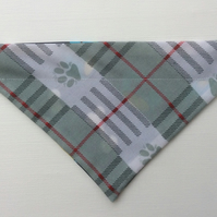 Reversible, over the collar bandana for small dog