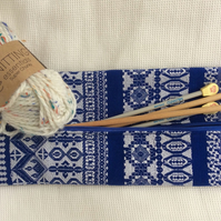 Long, Zipped Knitting Needle Bag
