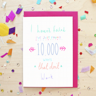 Inspirational 10,000 Ways Greeting Card