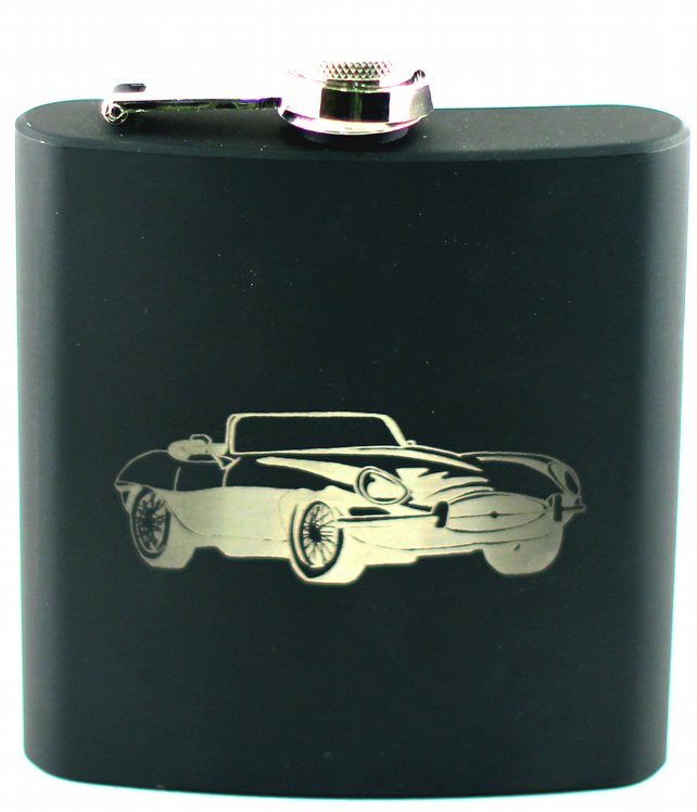 Vintage Wedding Car Keepsake In Gift Box In 2019: Engraved Hip Flask Classic Cars Gift Set Can Be...