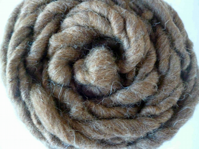 1 Kg, BULK BUY, Shetland Moorit yarn, super bulky, hand spun yarn