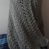 Knitting kit for a lovely soft and light shawl
