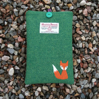 "Harris Tweed Kindle & 7"" Tablet Cover - Mr Fox - Free UK Delivery"