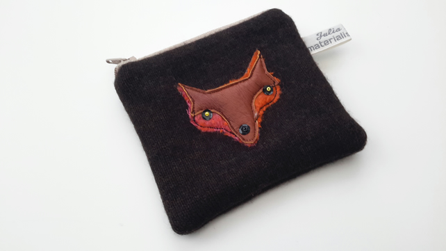 Fox Coin Purse