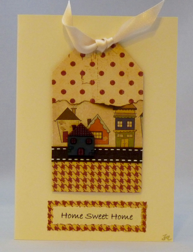 Handmade Card - Home Sweet Home