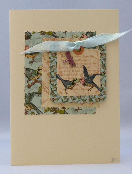 Handmade Card - Fairytale Birds