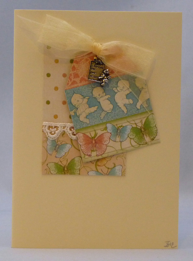 Handmade Card - New Baby Boy