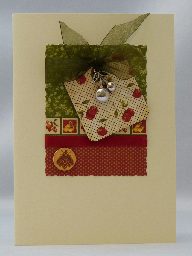 Handmade Card - Cherry on the Top