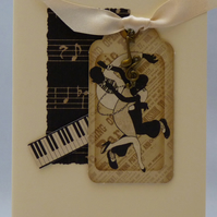 Handmade Card - All That Jazz