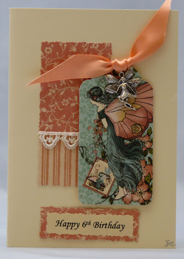 Handmade Card - Birthday Fairytale