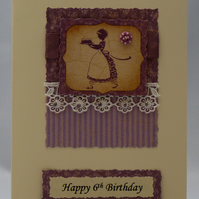 Handmade Card - Birthday Cake