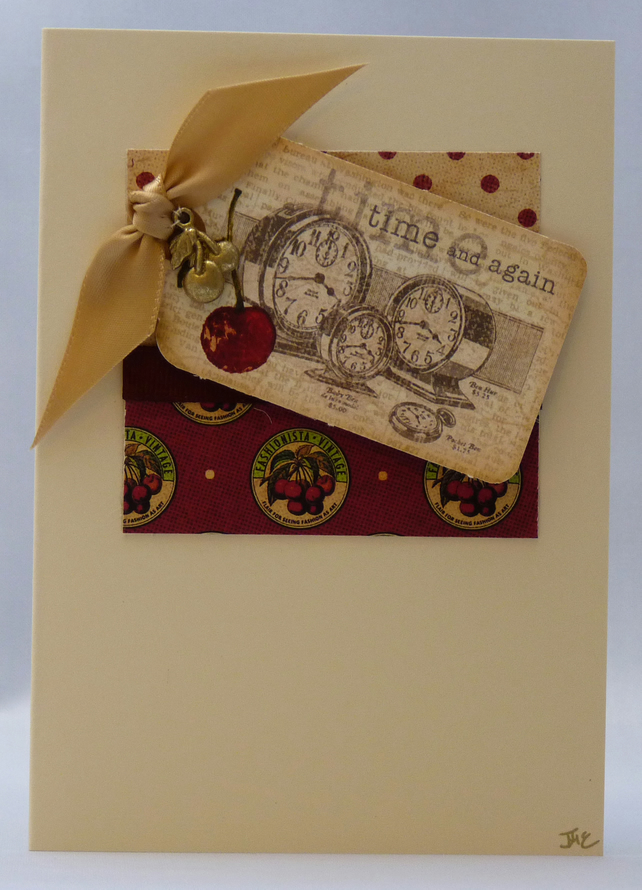 Handmade Card - Time for Cherries