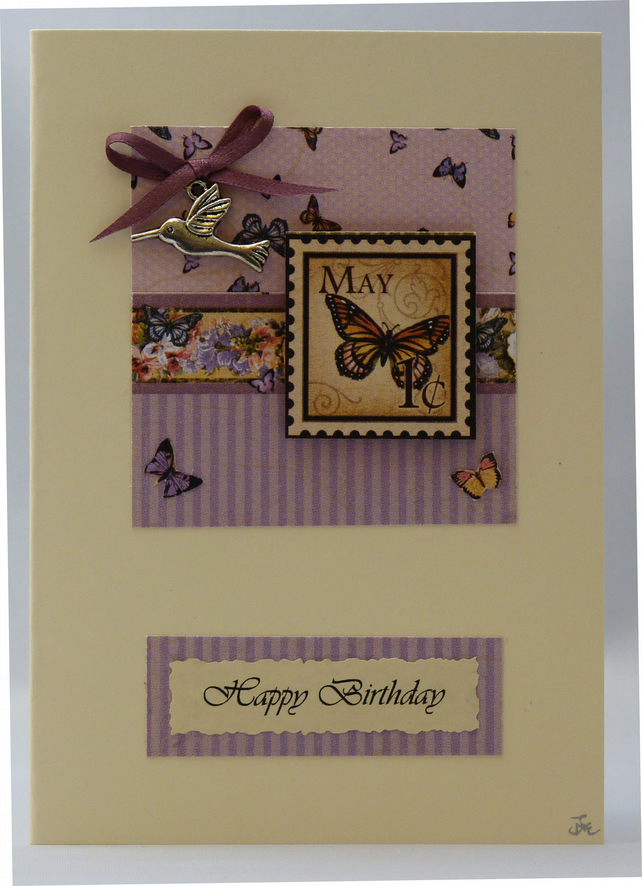 Handmade Card - May Birthday